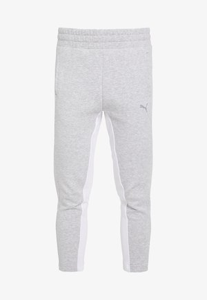 EVOSTRIPE PANTS - Tracksuit bottoms - light gray heather