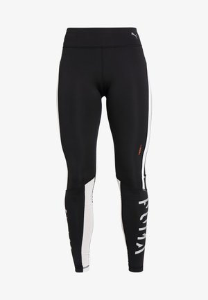 GET FAST THERMO R+ - Collants - black/white