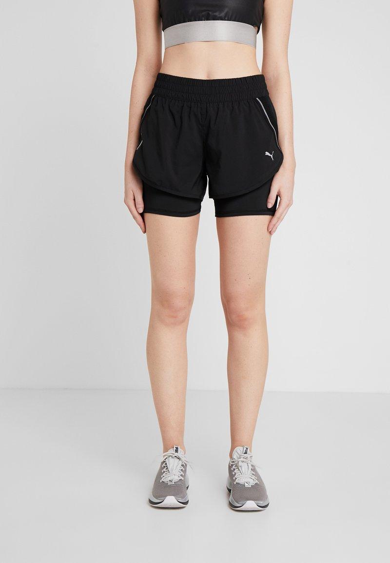Puma - LAST LAP SHORT - Pantalón corto de deporte - black