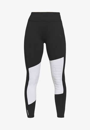 LOGO GRAPHIC  - Tights - black/white