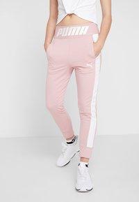 Puma - MODERN SPORT TRACK PANTS - Teplákové kalhoty - bridal rose - 0