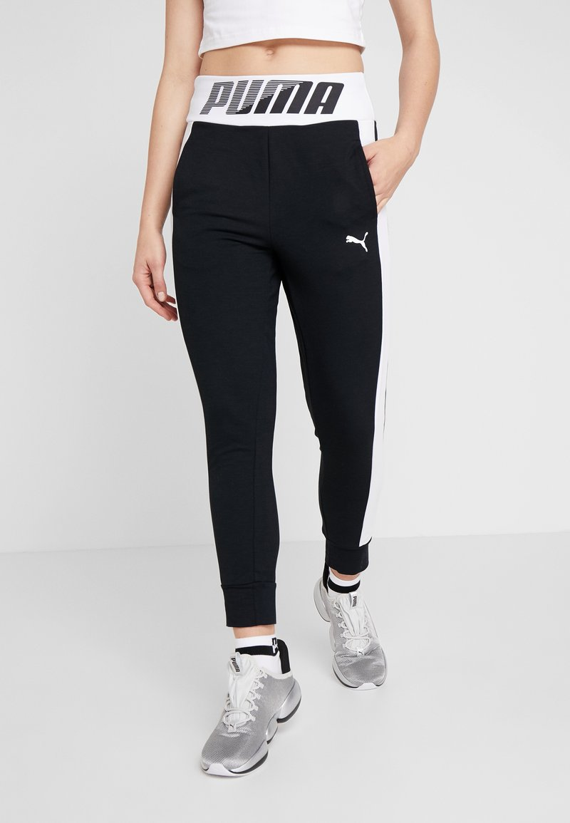 Puma - MODERN SPORT TRACK PANTS - Tracksuit bottoms - black