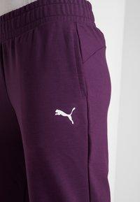 Puma - MODERN SPORT TRACK PANTS - Pantaloni sportivi - plum purple - 5