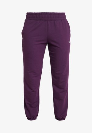 MODERN SPORT TRACK PANTS - Verryttelyhousut - plum purple