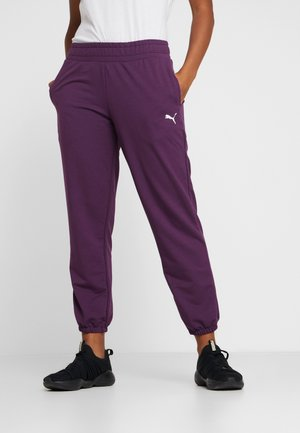 MODERN SPORT TRACK PANTS - Pantaloni sportivi - plum purple