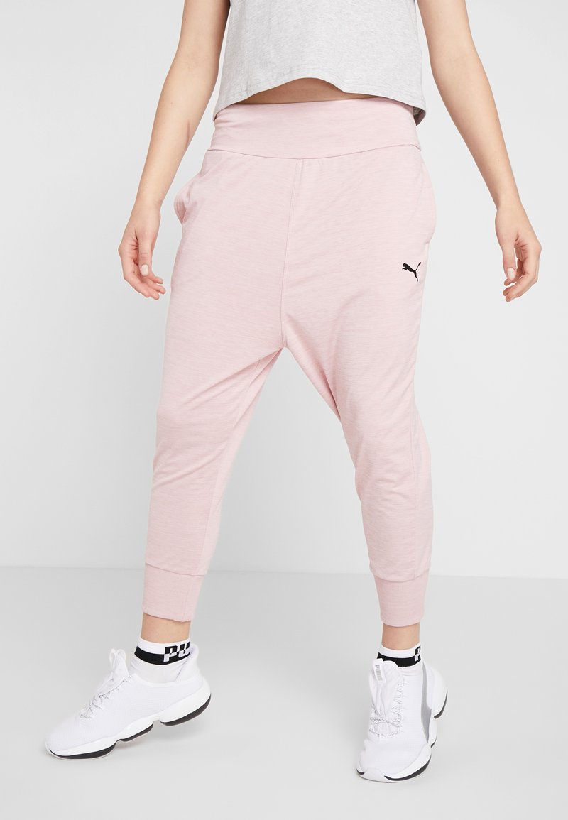 Puma - SOFT SPORTS DRAPEY PANTS - Jogginghose - bridal rose heather