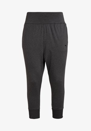 SOFT SPORTS DRAPEY PANTS - Trainingsbroek - black heather