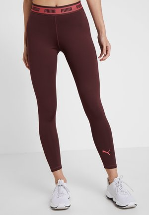 SOFT SPORTS LEGGINGS - Leggings - vineyard wine