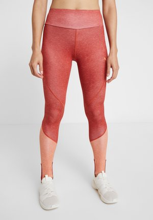 HIGH WAIST LEGGINGS - Punčochy - bossa nova