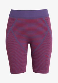 Puma - SEAMLESS CYCLING SHORTS - Collant - imperial palace/persian red - 3