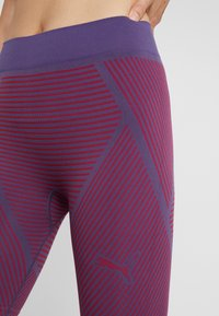 Puma - SEAMLESS CYCLING SHORTS - Collant - imperial palace/persian red - 4