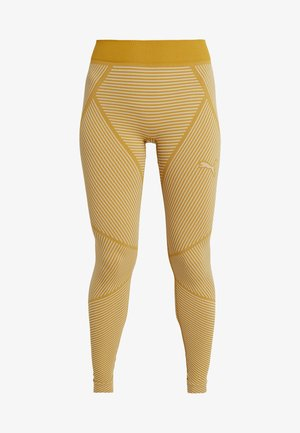 SEAMLESS LEGGINGS - Punčochy - chai tea/oatmeal