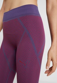 Puma - SEAMLESS LEGGINGS - Legging - imperial palace/persian red - 4