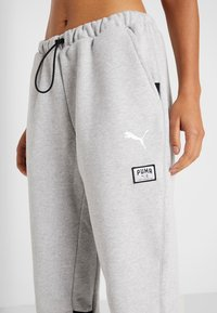 Puma - AL PANT - Pantalones deportivos - grey heather - 4