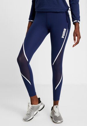 PAMELA  REIF X PUMA LEGGINGS - Punčochy - blue depths