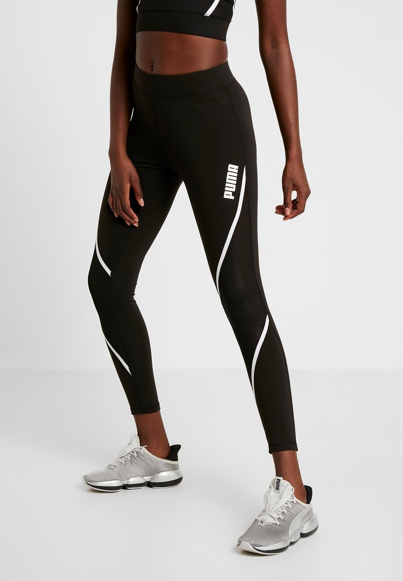 Puma - PAMELA  REIF X PUMA LEGGINGS - Tights - black