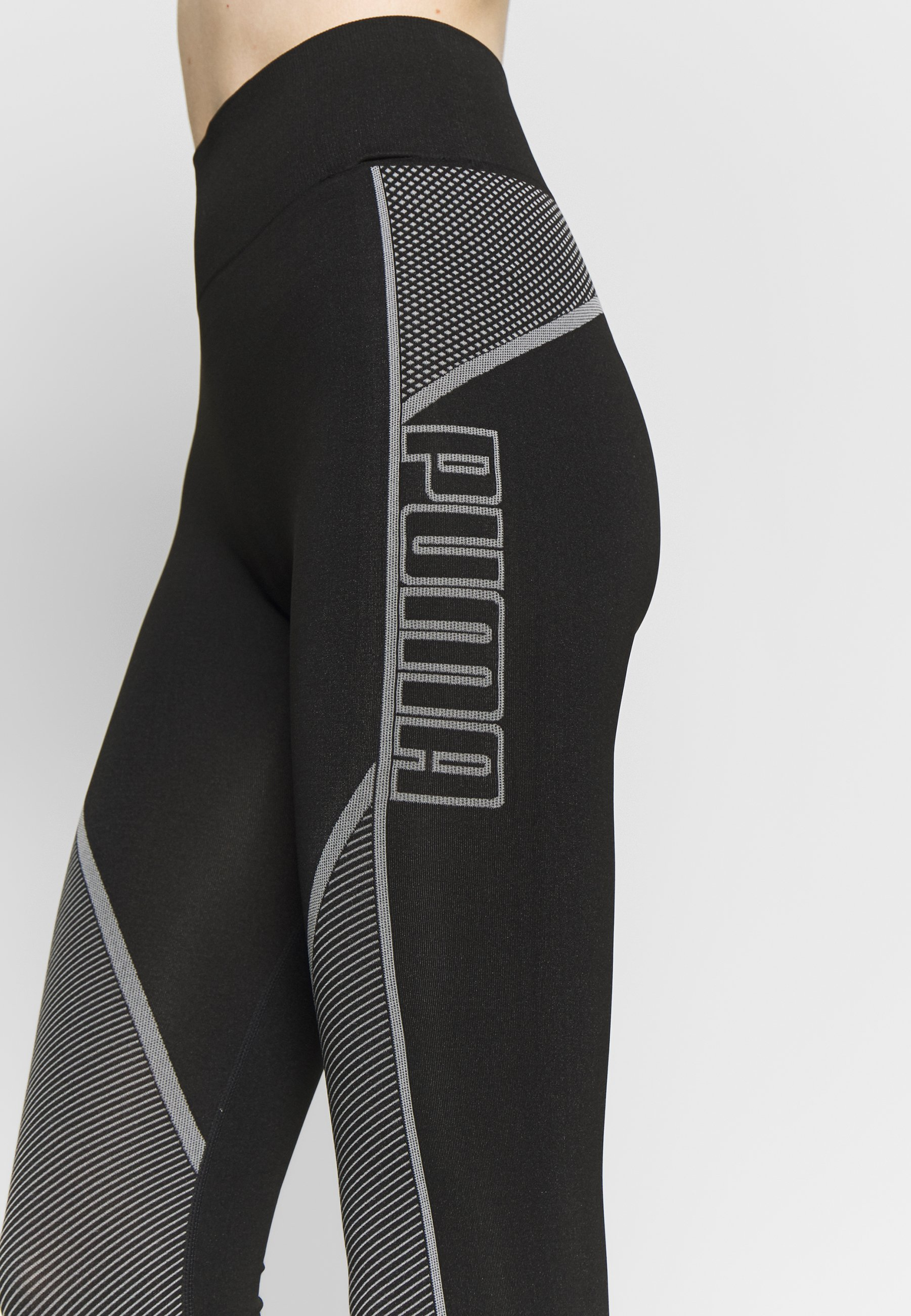 Puma Evostripe Evoknit Leggings - Collant Black GDLWA