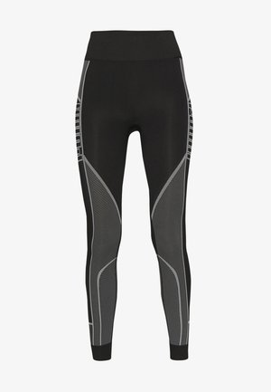 EVOSTRIPE EVOKNIT LEGGINGS - Trikoot - black