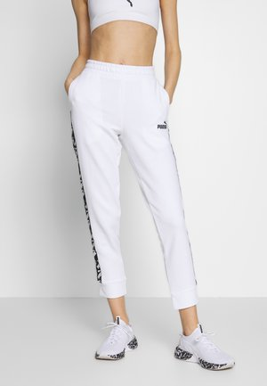 AMPLIFIED PANTS  - Pantalon de survêtement - puma white