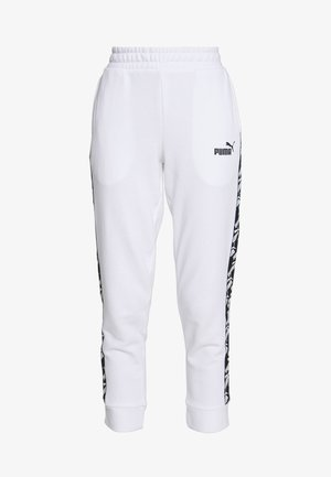AMPLIFIED PANTS  - Träningsbyxor - puma white