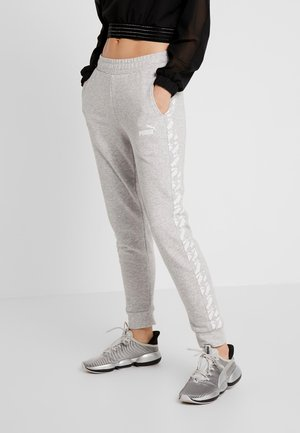 AMPLIFIED PANTS  - Teplákové kalhoty - light grey heather
