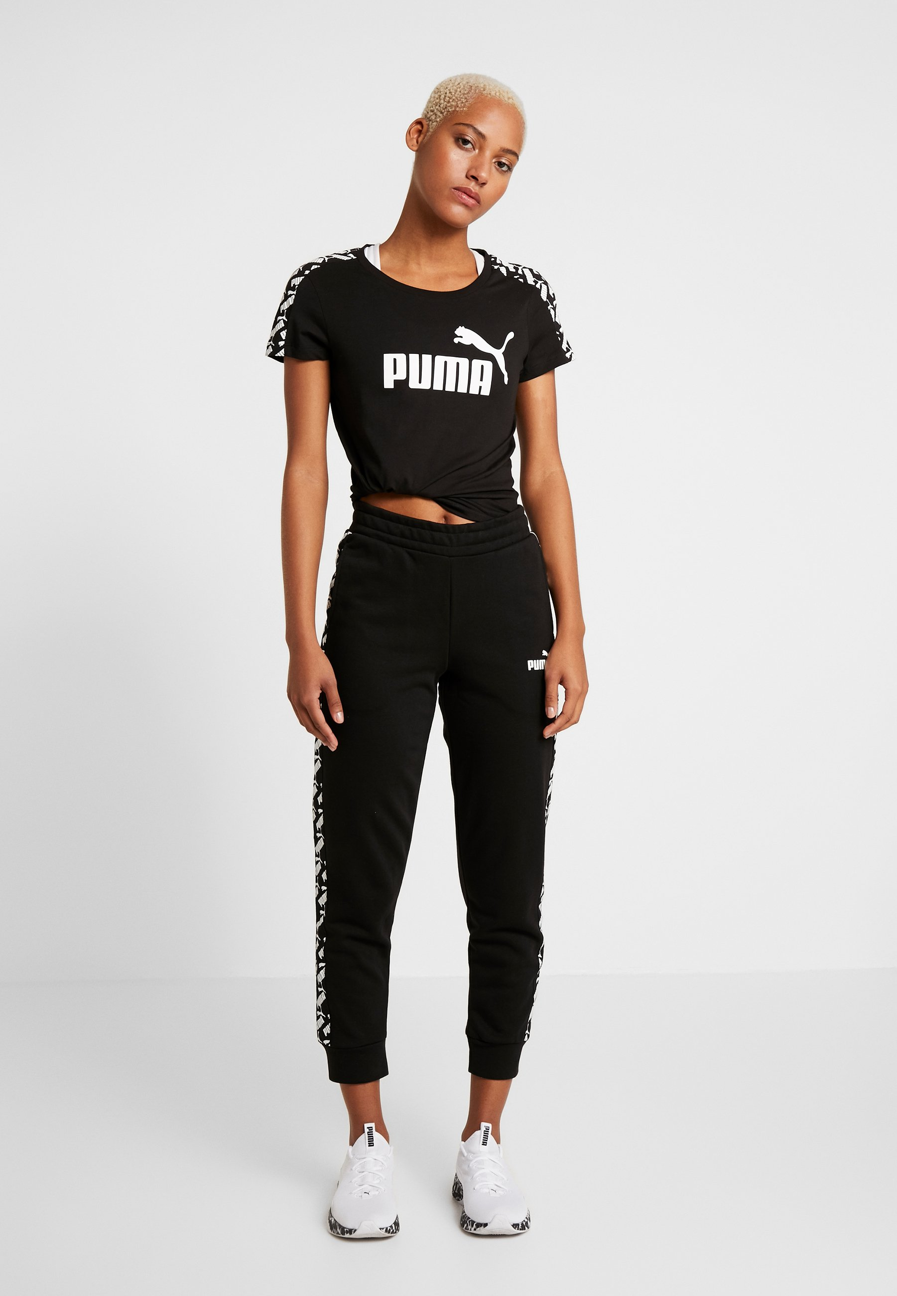 Puma Amplified Pants - Träningsbyxor Black