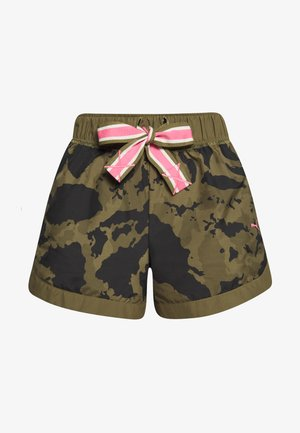 THE FIRST MILE SHORT - Sports shorts - burnt olive