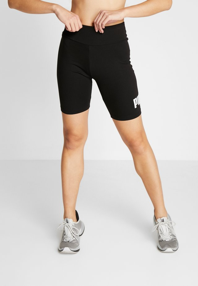 SHORT  - Leggings - black