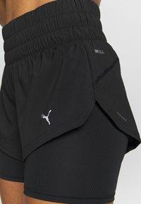 Puma - LAST LAP SHORT 2-IN-1  - Sports shorts - puma black - 4