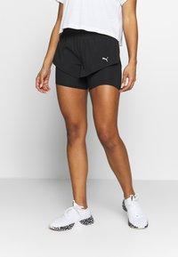 Puma - LAST LAP SHORT 2-IN-1  - Sports shorts - puma black - 0