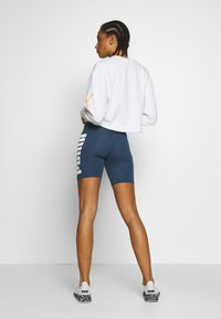Puma - REBEL SHORT - Tights - dark denim - 2