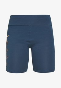 Puma - REBEL SHORT - Tights - dark denim - 4