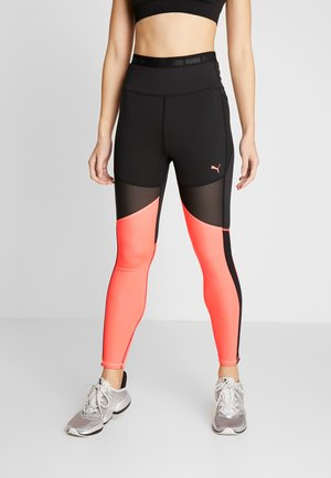 BE BOLD THERMO - Legginsy - black/ignite pink