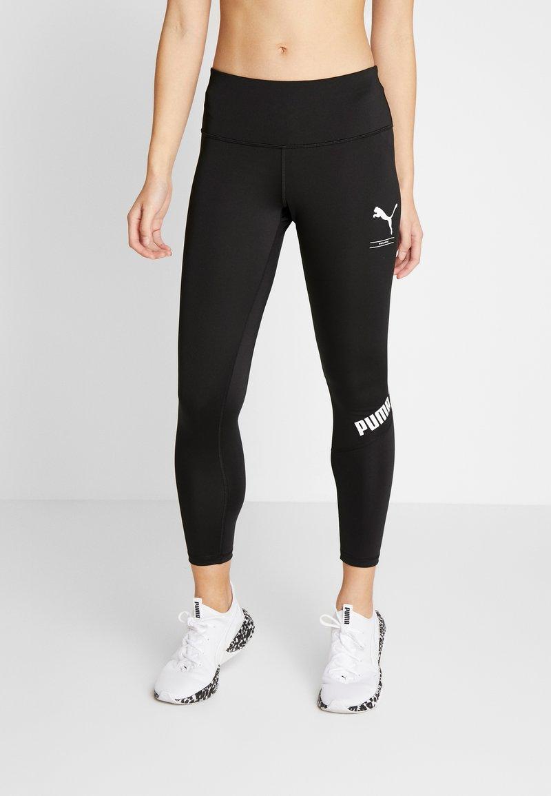 Puma - NU-TILITY LEGGINGS - Trikoot - puma black