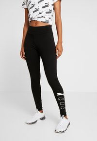 Puma - REBEL LEGGINGS - Collant - black - 0