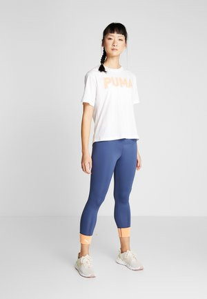 MODERN SPORTS LEGGINGS - Medias - dark denim/cantaloupe