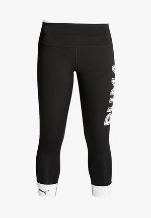 MODERN SPORTS LEGGINGS - Tights - black/white