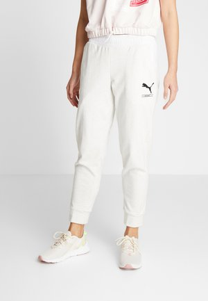 NU-TILITY PANTS - Pantalon de survêtement - puma white heather