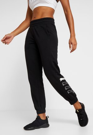 REBEL PANTS - Trainingsbroek - black