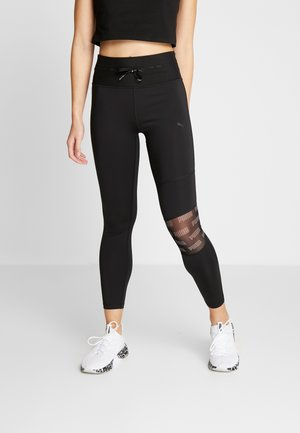 FEEL IT 7/8  - Legginsy - puma black