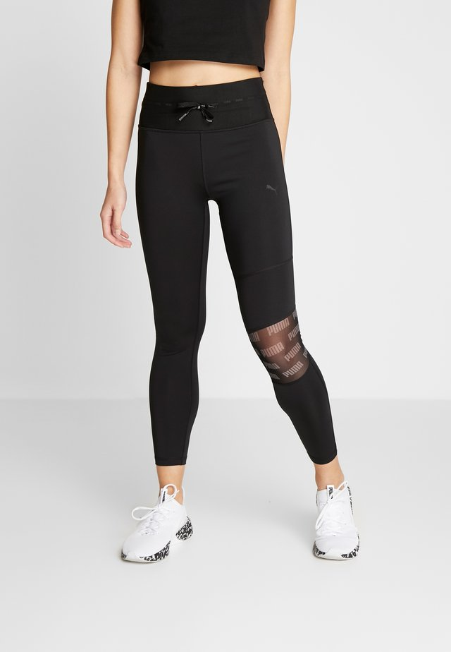 FEEL IT 7/8  - Tights - puma black