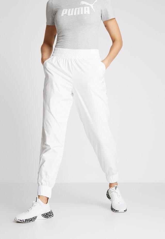 PUMA PANT - Tracksuit bottoms - white