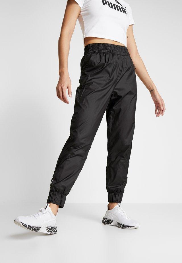 PUMA PANT - Tracksuit bottoms - puma black