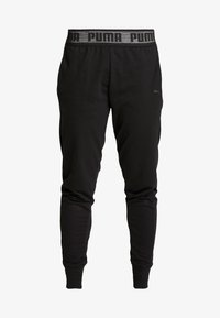 Puma - LOGO PANT - Pantalon de survêtement - black - 4