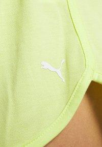 Puma - SUMMER SHORTS - Sports shorts - sunny lime - 6