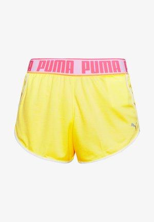 LAST LAP SHORT - Sports shorts - sunny lime