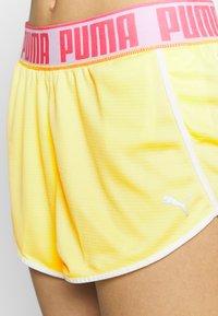 Puma - LAST LAP SHORT - Pantalón corto de deporte - sunny lime - 4
