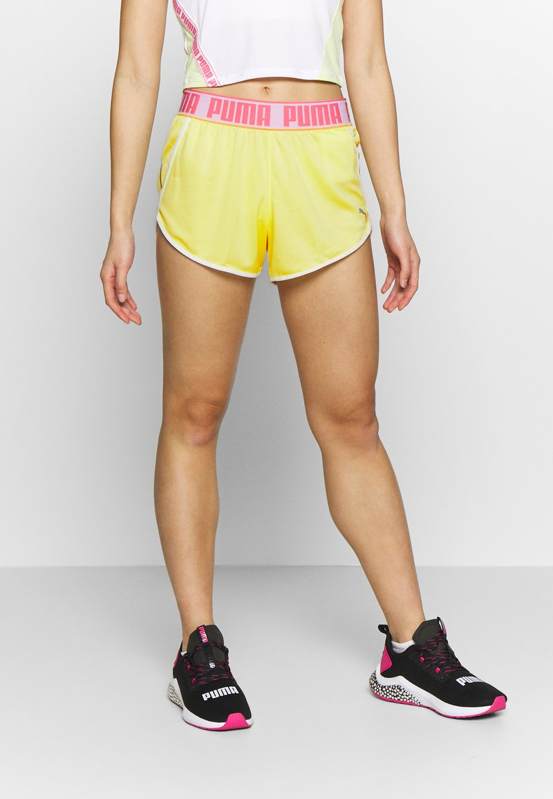 Puma - LAST LAP SHORT - Pantalón corto de deporte - sunny lime