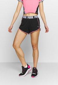 Puma - LAST LAP SHORT - Pantalón corto de deporte - black - 0