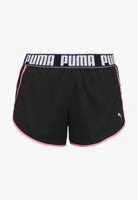 Puma - LAST LAP SHORT - Pantalón corto de deporte - black - 4